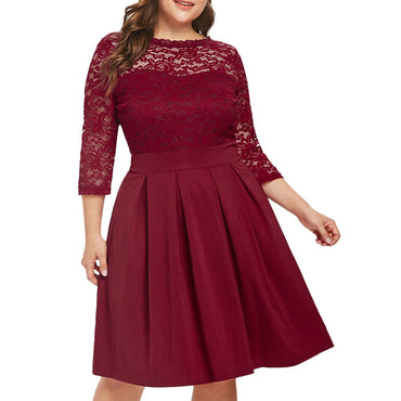 Casual Lace Party Dress