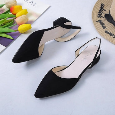 Flat Shoes Low Heel.