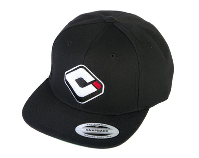 ODI SNAP BACK LOGO - BLACK