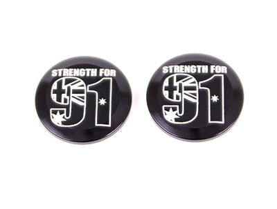 """STRENGTH FOR 91"" ODI ALLOY END CAPS"