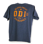 ODI TOKEN TEE NAVY BLUE