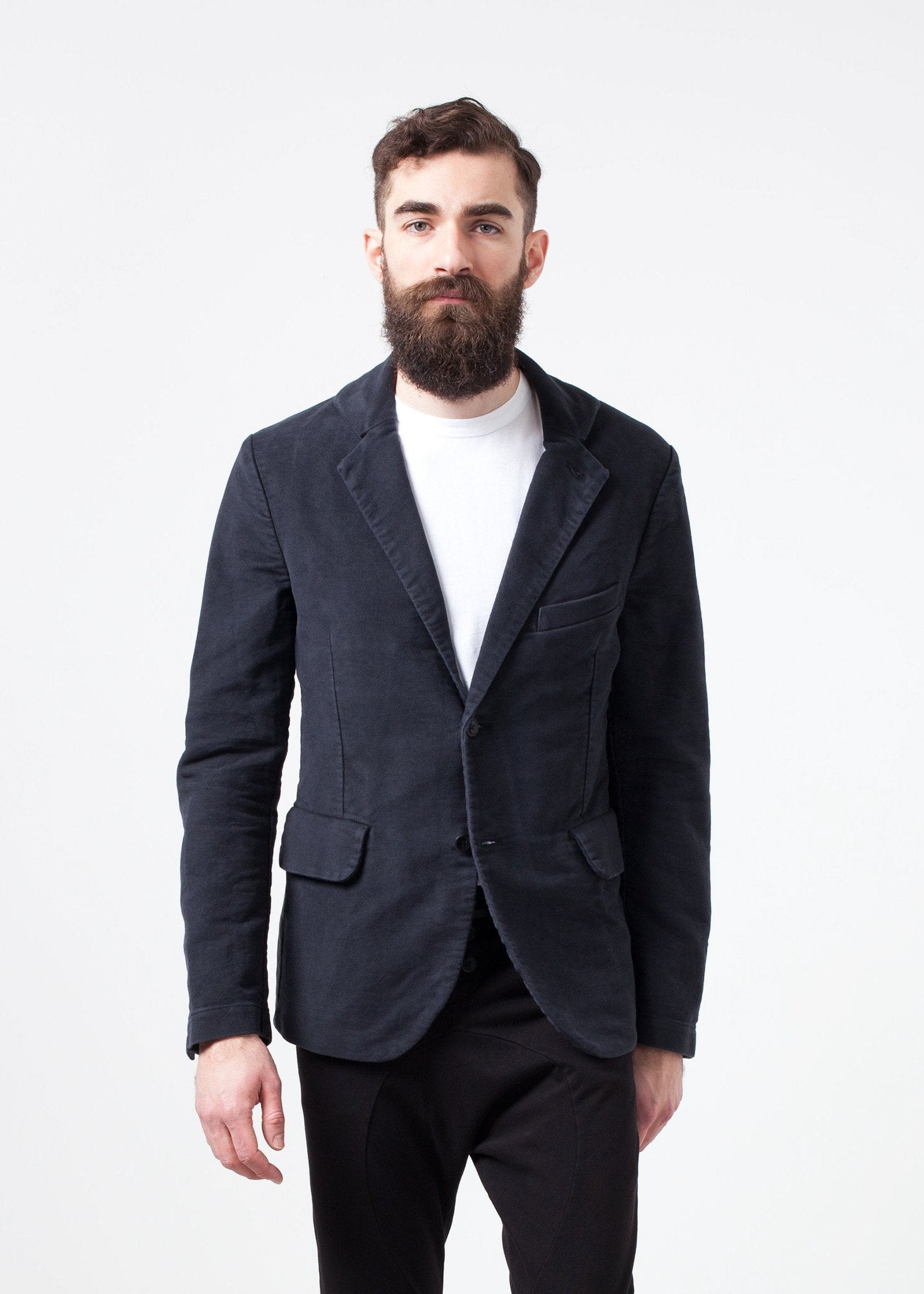 Zepo Brushed Cotton Blazer