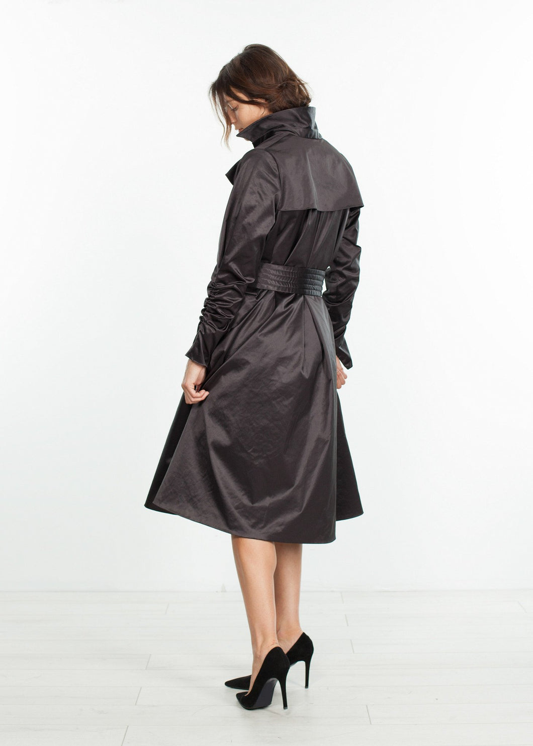 Trench Coat in Black