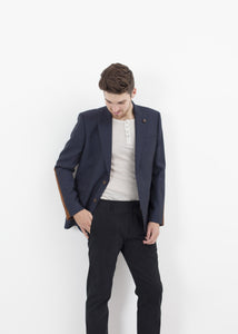Swift Low Blazer in Navy