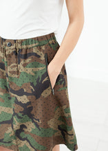 Load image into Gallery viewer, Military Skirt in Camo