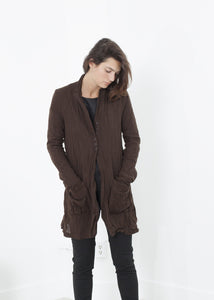 Ghost Wool Jacket in Brown