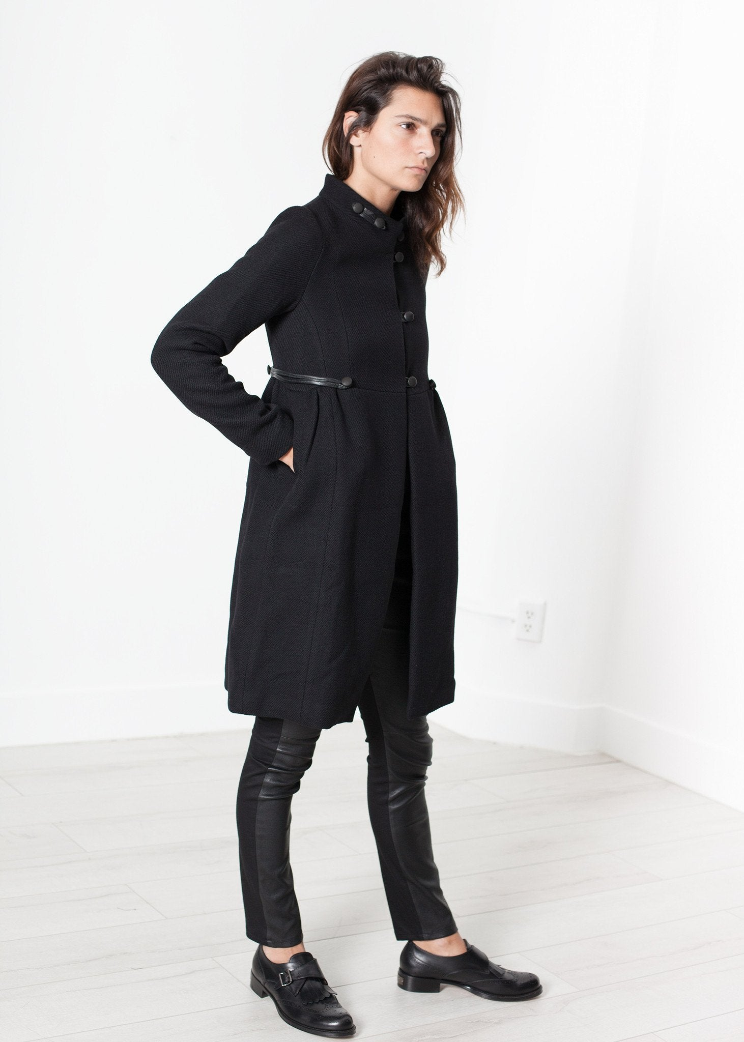 Zoulou Coat in Black