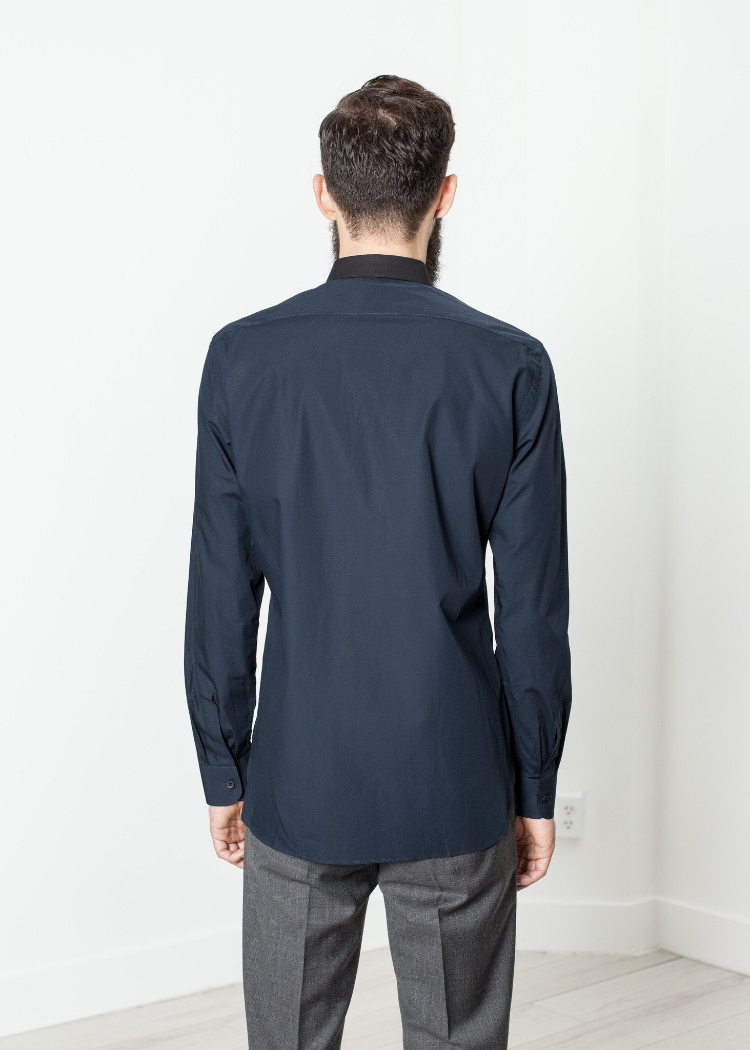 Camicia Classic Shirt in Navy