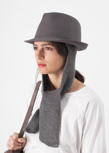 Kate Hat in Steel Grey
