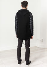 Load image into Gallery viewer, Hooded Parka in Black