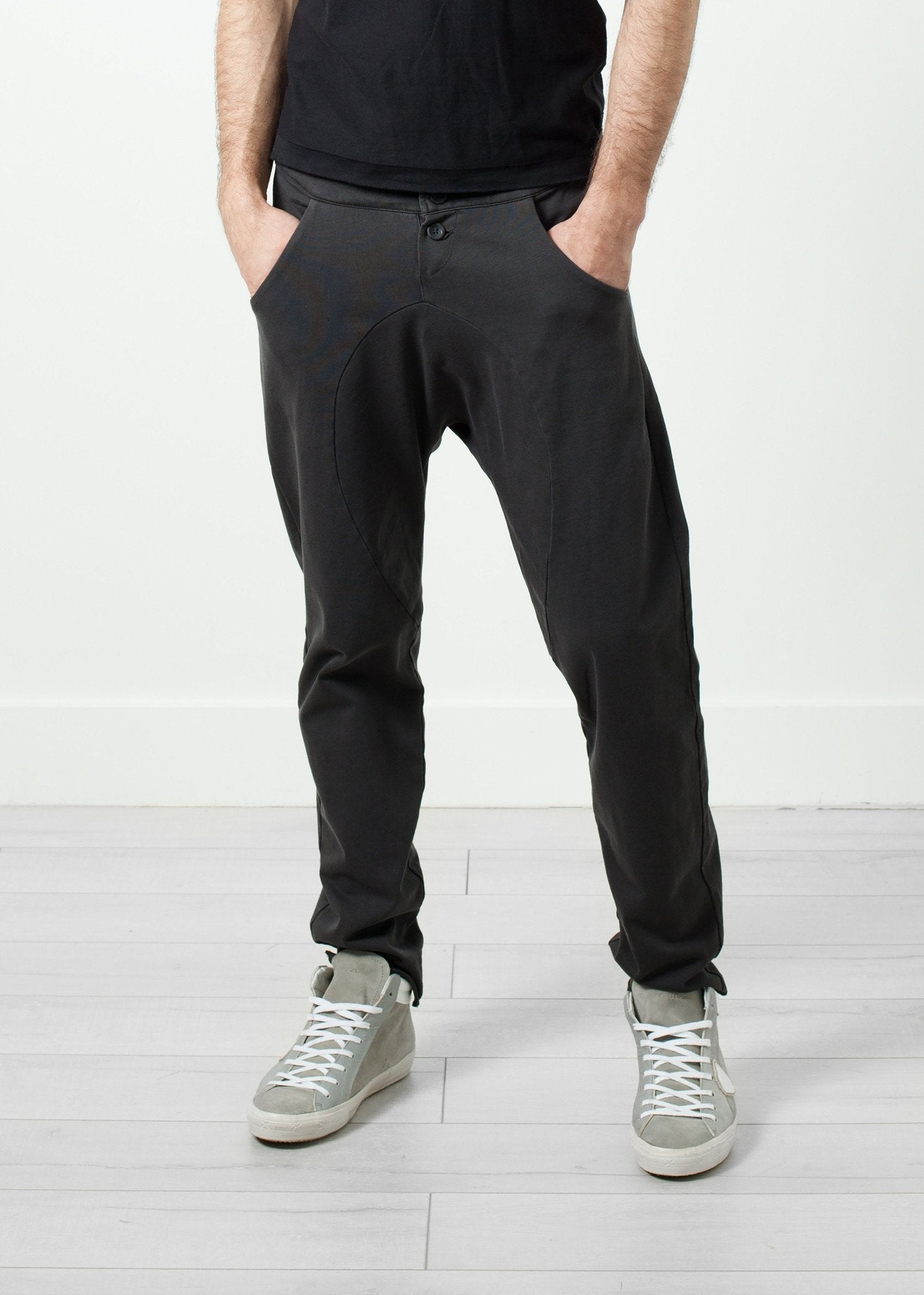 Ruven Pant in Drop Crotch