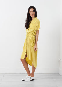 Ultime Silk Shirt Dress