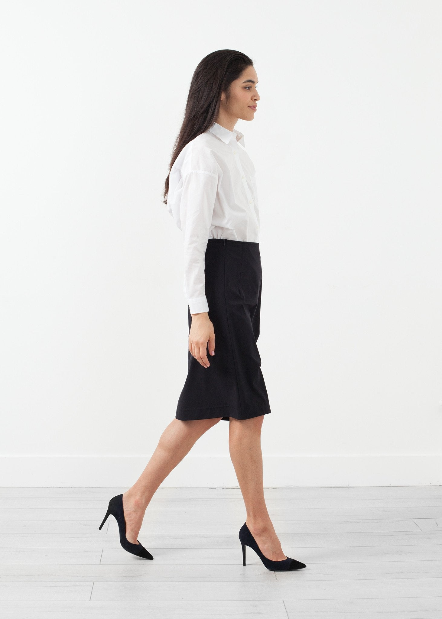 Side Ruche Skirt