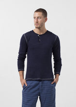 Load image into Gallery viewer, Two Button Henley