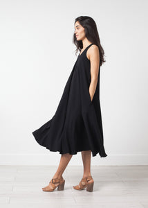 Sleeveless Flow Dress
