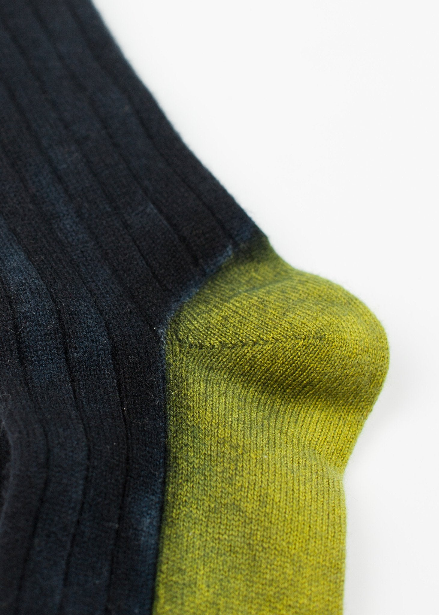 Cashmere Knit Sock in Blue