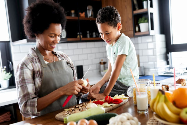 balanced diet to fight against child fatigue