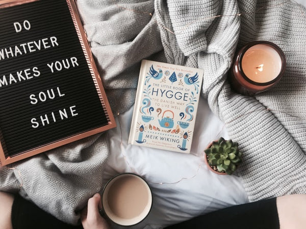 hygge cocooning wellness routine