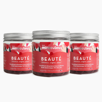 Gummies Beauty Dreier | BEAUTY TRIO Box | 3 x 21 Tage