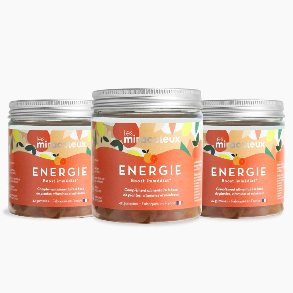 Energy Gummies | TRIO ENERGY Box | 3 x 21 days