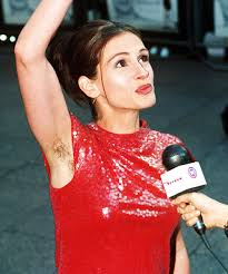 Julia Roberts hairy arms