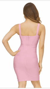 All About Me Bandage Dress Pink -  Dollhouse-Collection