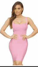 Load image into Gallery viewer, All About Me Bandage Dress Pink -  Dollhouse-Collection