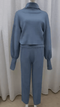 Load image into Gallery viewer, Lux Loungewear Blue -  Dollhouse-Collection