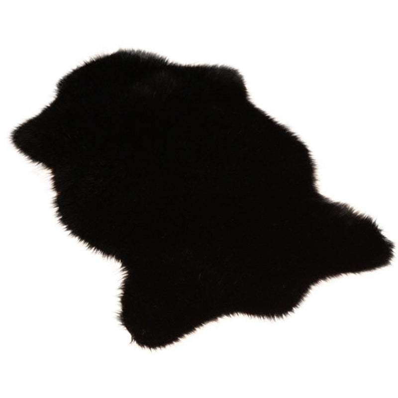 Black Bear Skin Shape