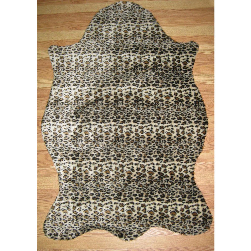 Cheetah Print Bear Skin Shape