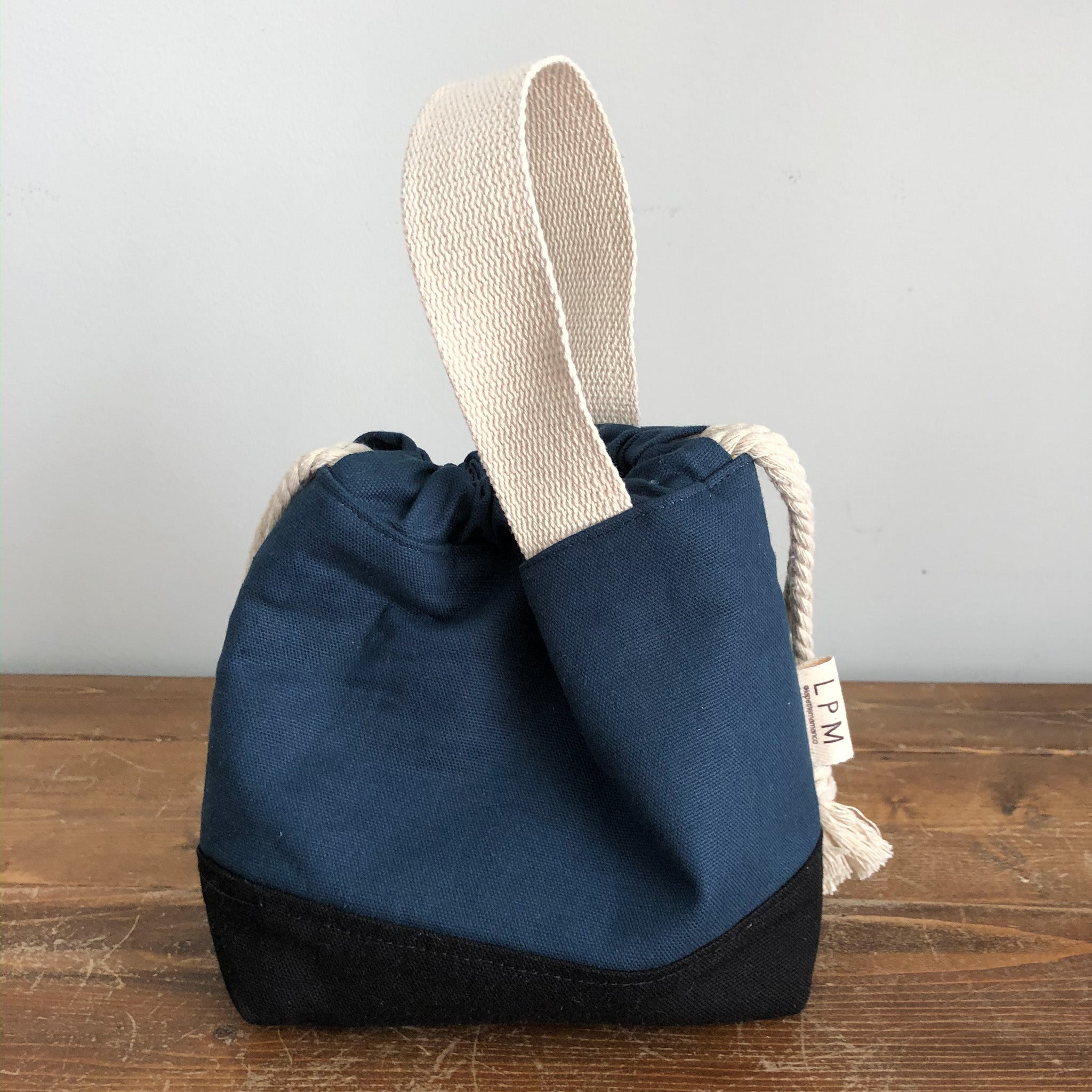 Meraki Project Bag - Blue Steel