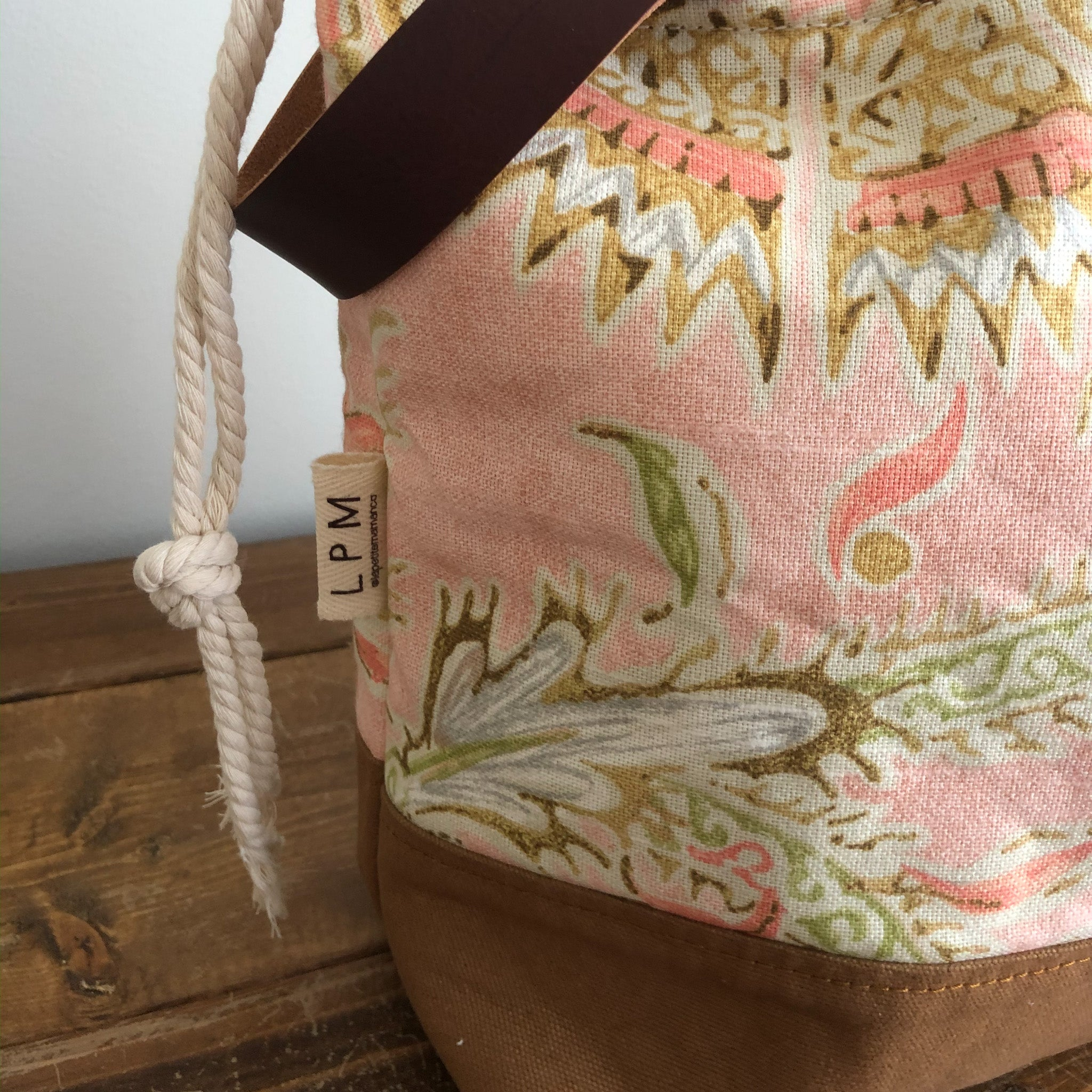 Meraki Project Bag - Blush Floral