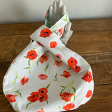 Knot Bag - Poppies