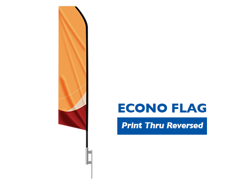 Economy Feather Flag - 16 ft.