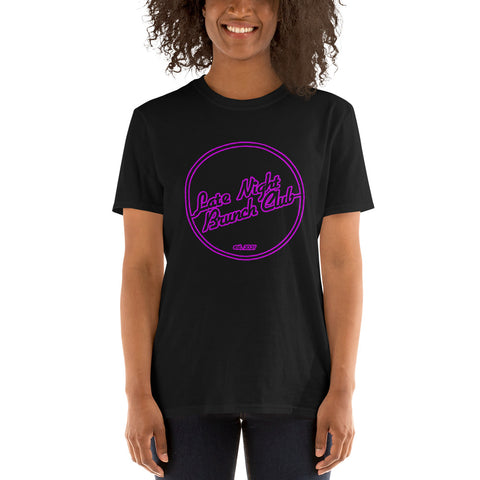 Late Night Brunch Club Logo Tee