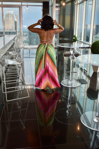 Lexi Multi-Colored Maxi Dress