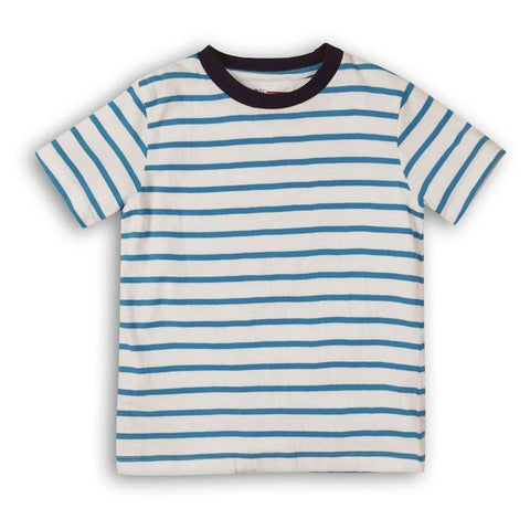 Blue striped tshirt