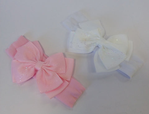 Large Bow Sparkle Hairband