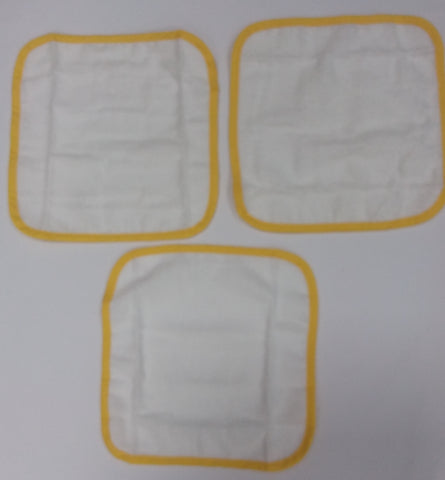 Face Cloths 3 Pack