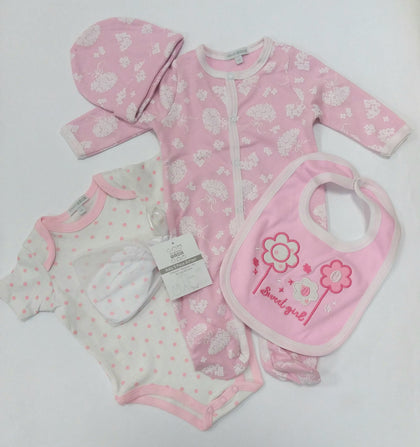 Sweet Girl Five Piece Set