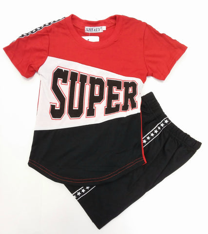 Super Football Set Black