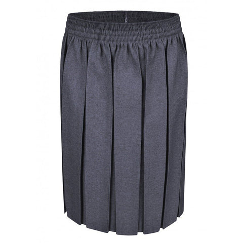 Pleated Grey Skirt