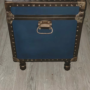 """Anchored"" End Table Trunk"
