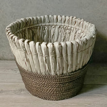 "Load image into Gallery viewer, ""Cozy Up"" Refurbished Basket"