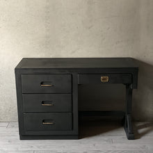 "Load image into Gallery viewer, ""Noir"" Writing Desk"