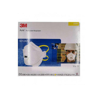 3M aura particulate respirator ffp1 mask 10 pieces-Face Mask-beautylion.shop