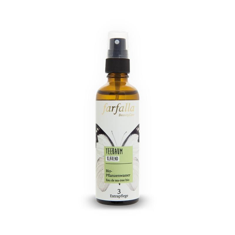 Farfalla tea tree organic plant water (clarifying) 75ml - beautylion.shop