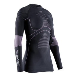 X-BIONIC ENERGY ACCUMULATOR® 4.0 SHIRT ROUND NECK LG SL WOMEN-Sport-X-Bionic®-XS-PLUM/PEARL GREY-beautylion.shop