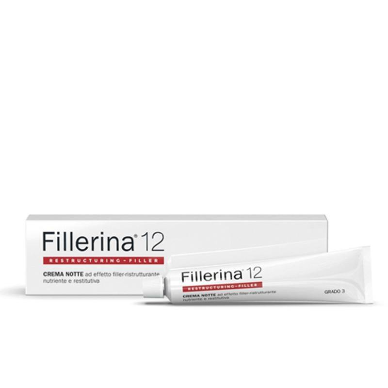 LABO SUISSE fillerina 12 night cream grade 5 50 ml - beautylion.shop