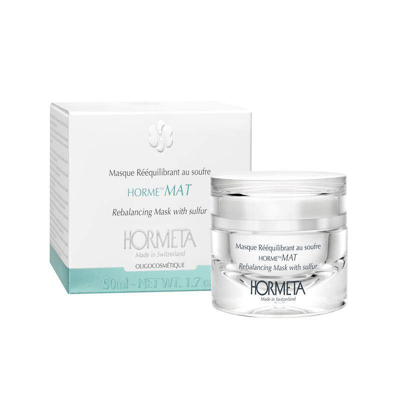 Hormeta mat rebalancing mask with sulfur 50 ml - beautylion.shop